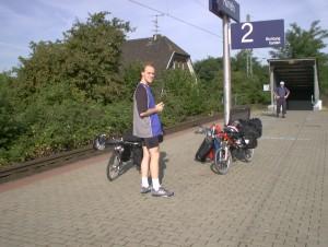 Am Rumelner Bahnhof