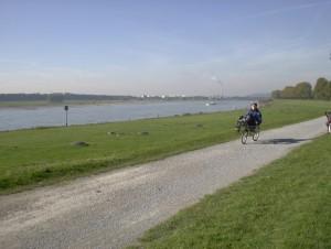 Fotoshooting am Rhein