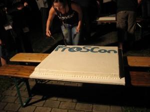 FrOSCon-Geburtstagstorte