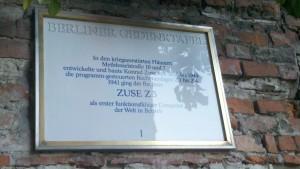 Wo Konrad Zuse seine Z3 baute